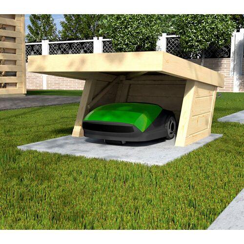 weka Mähroboter-Garage BxTxH: 86x124x54 cm, natur