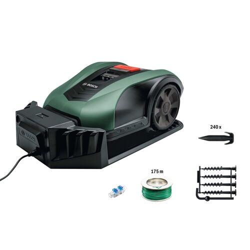 Bosch Rasenmähroboter »Indego M+ 700«, bis 700 m² Rasenfläche, Steuerung über Native App, grün