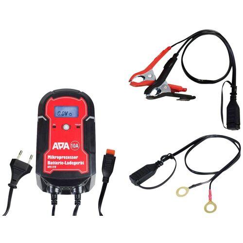 APA Batterieladegerät »6/12V 10A«, rot