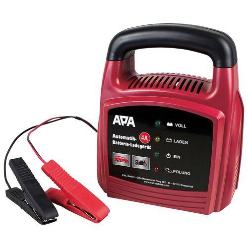 APA Batterieladegerät »12V, 4A«, rot