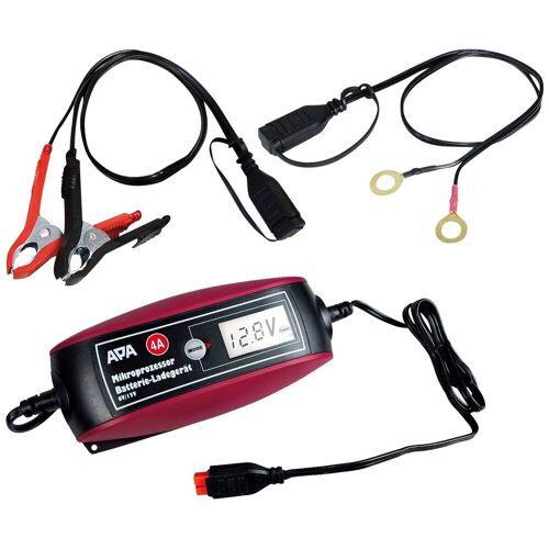 APA Batterieladegerät »6V/12V 4A«, rot