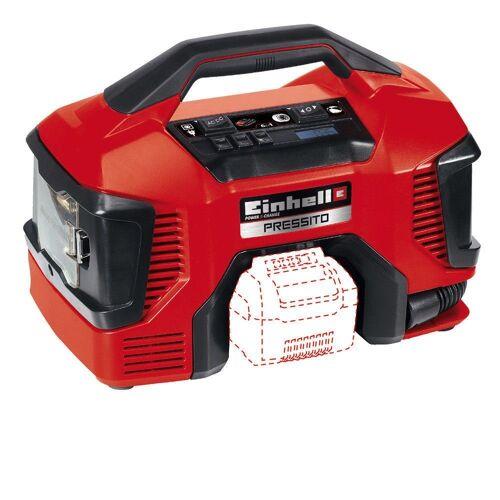 Einhell Kompressor, Leistungsstarker Strom- und Akku-Antrieb