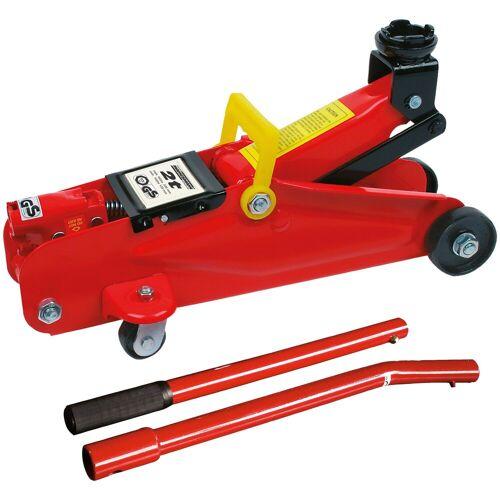 Brüder Mannesmann Werkzeuge BRUEDER MANNESMANN WERKZEUGE Wagenheber »Hydraulik Rangier-Wagenheber«, Maße (B/H/L) 15x23x46 cm, rot