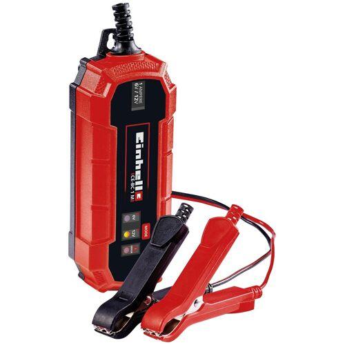 Einhell Batterieladegerät »CE-BC 1 M«, 6/12 V, 1 A, rot