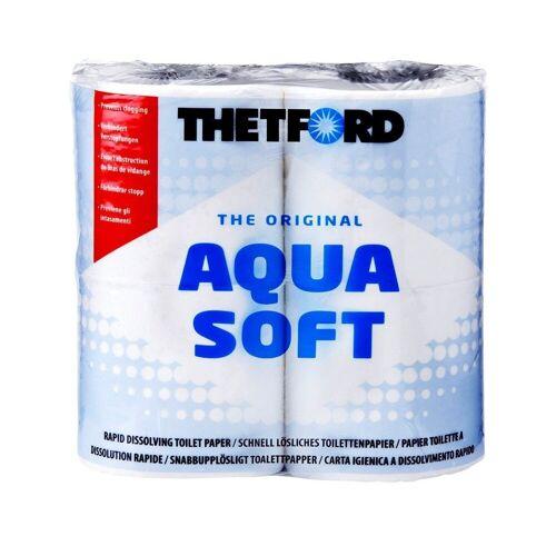 THETFORD Klopapier »Aqua Soft«, weiß, 4 Rollen, weiß