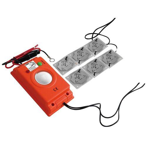 LAS Marderabwehrgerät Ultraschall, zur Vermeidung von Marderschäden, orange