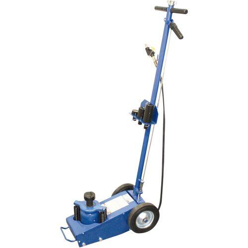 BGS Wagenheber Lufthydraulisch, fahrbar, 22 t, blau