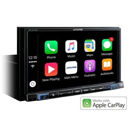 Alpine Audio-System (INE-W710D - Navi Station mit Apple CarPlay und Android Auto)