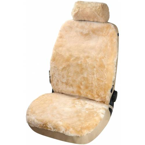 Walser Set: Autositzbezug »Iva«, aus Lammfell, beige