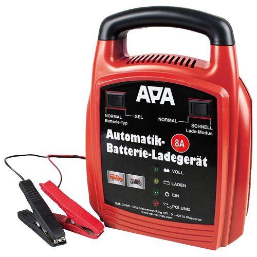 APA Batterieladegerät 12 V, 8 A, rot