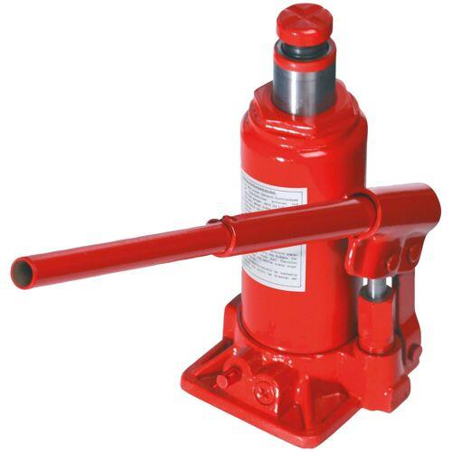 Brüder Mannesmann Werkzeuge BRUEDER MANNESMANN WERKZEUGE Wagenheber hydraulisch, Maße (B/H/L) 11,5x17,5x10 cm, rot