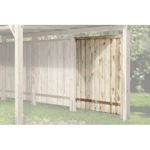 weka Seitenwand , für Carport »Gr. 1-3« BxL: 180 x 181 cm, braun