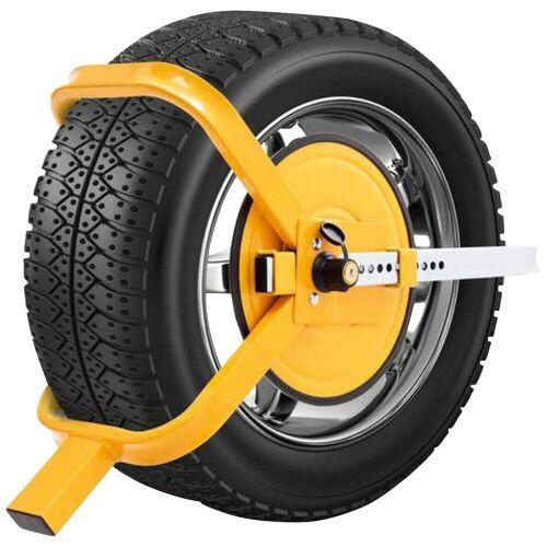 BASI Diebstahlsicherung »Radkralle«, Für 13-17 Zoll Räder, gelb