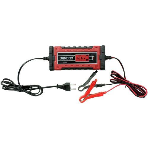 Absaar Batterieladegerät »EVO 4.0«, 4A 6/12V, rot
