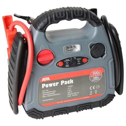 APA Starthilfegerät »Power Pack«, bis 500 Ampere, mit Kompressor, schwarz