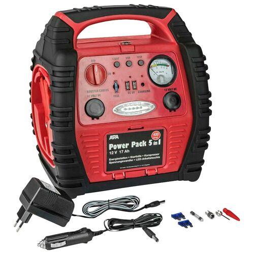APA Batterieladegerät »Power Pack 5 in 1«, rot