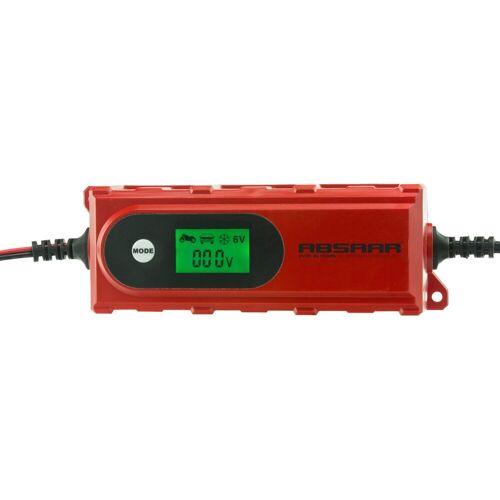 Absaar Batterieladegerät , 4A 6/12V, rot