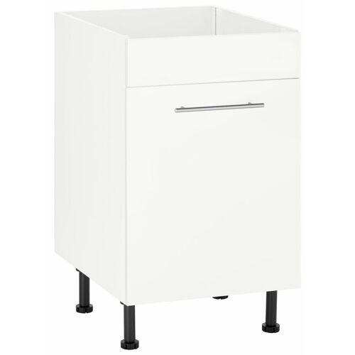 wiho Küchen Spülenschrank »Ela« Breite 50 cm, weiß