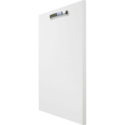 OPTIFIT Frontblende »Cara«, Tür für vollintegierbaren Geschirrspüler 60 cm, Weiß/Weiß