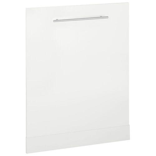 wiho Küchen Frontblende »Flexi2«, für vollintegrierbaren Geschirrspüler, weiß/weiß