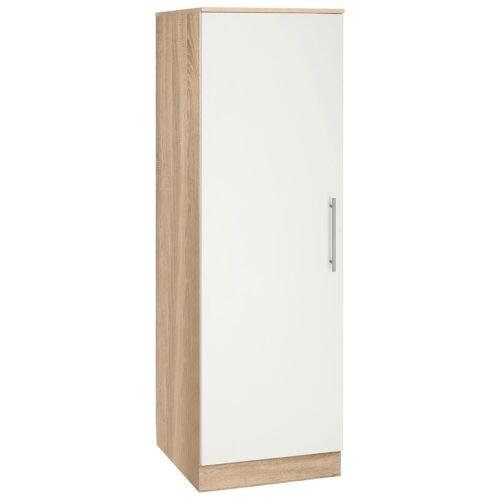 wiho Küchen Seitenschrank »Aachen«, Breite 50 cm, weiß matt
