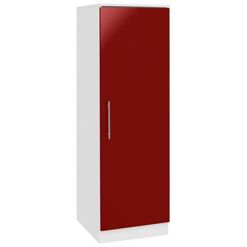 wiho Küchen Seitenschrank »Aachen«, Breite 50 cm, rot Glanz