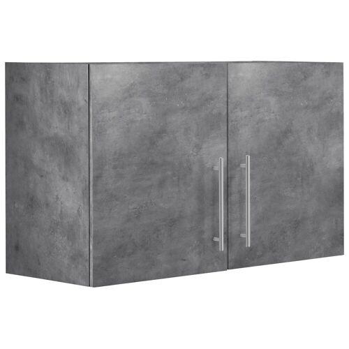 wiho Küchen Hängeschrank »Cali« 100 cm breit, Betonfarben/Betonfarben