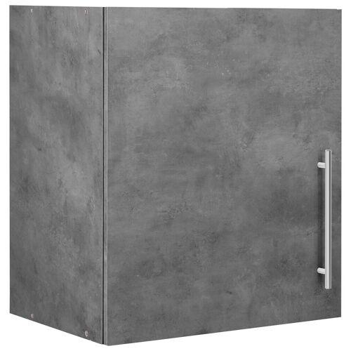 wiho Küchen Hängeschrank »Cali« 50 cm breit, Betonfarben/Betonfarben
