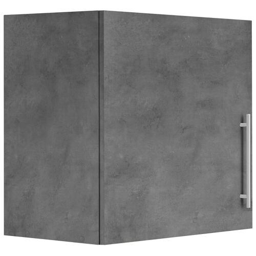 wiho Küchen Hängeschrank »Cali« 60 cm breit, Betonfarben/Betonfarben