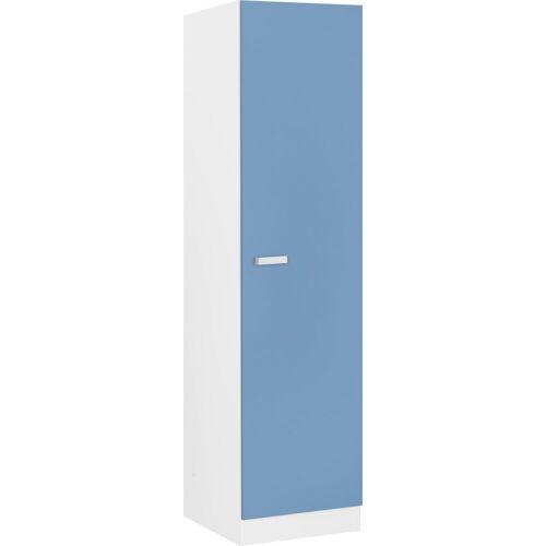 wiho Küchen Seitenschrank »Husum« 50 cm breit, himmelblau/weiß