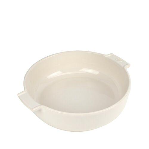 PEUGEOT Auflaufform »Auflaufform Rund 27 cm Appolia«, Keramik, Weiss