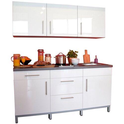 Menke Küchen Küchenzeile »Rack-Time I 180«, mit E-Geräten