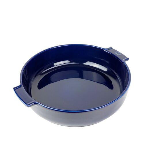 PEUGEOT Auflaufform »Auflaufform Rund 34 cm Appolia«, Keramik, Blau
