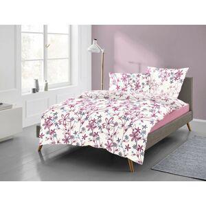 freundin Home Collection Bettwäsche »Lilo 8986«, , mit fein gezeichneten Blumen, rosa