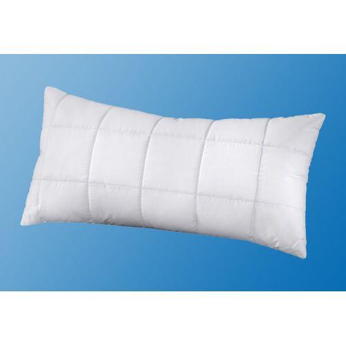 f.a.n. Schlafkomfort Kunstfaserkopfkissen, »Greenfirst«, , Bezug: 100% Baumwolle, (1-tlg)