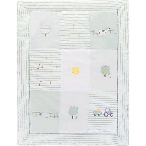 Alvi® Krabbeldecke »Krabbeldecke Farm, 100 x 135 cm«, , grün