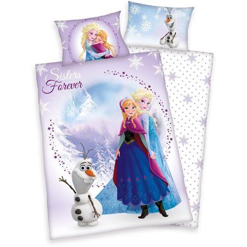 Disney Kinderbettwäsche »Frozen Sisters«, , Eiskönigin