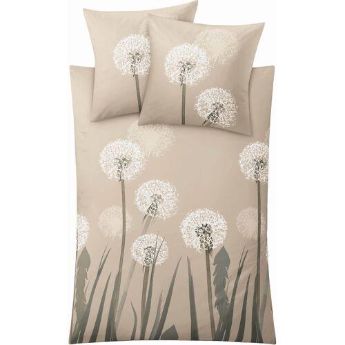 Kleine Wolke Bettwäsche »Belfiore«, , mit Pusteblumen, beige