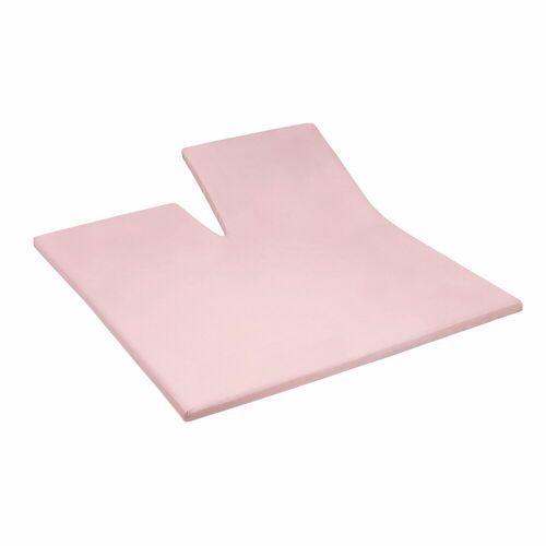 Cinderella Spannbettlaken »Jersey Split«, , für Split Topper, rosa