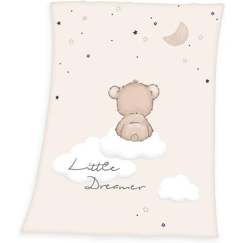 Herding Kinderdecke »Babydecke Little Dreamer, 75x100 cm«,