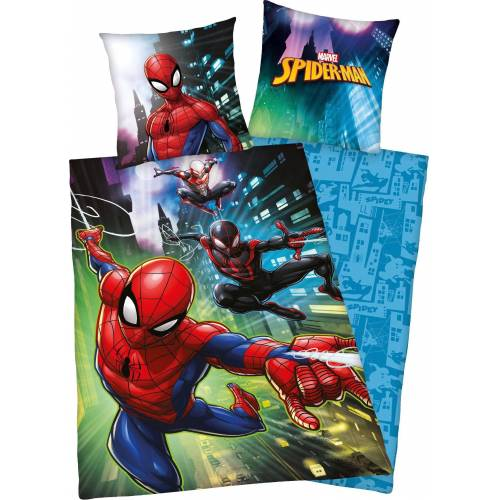 Marvel Kinderbettwäsche »Spiderman«, , mit Spiderman Motiv