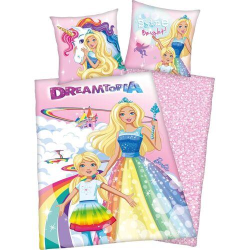 Mattel Kinderbettwäsche »Barbie Dreamtopia«, , mit Barbie