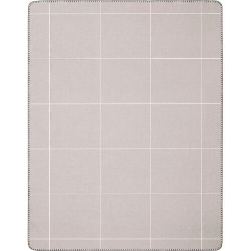 BIEDERLACK Wolldecke »Grid«, , mit großzügigem Karo