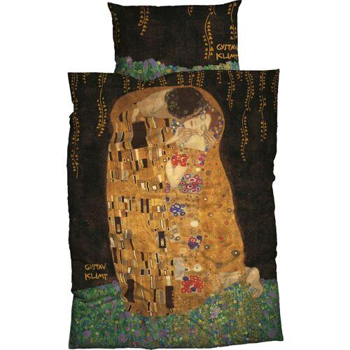 Goebel Bettwäsche »Kuss«, , mit Klimt Gemälde