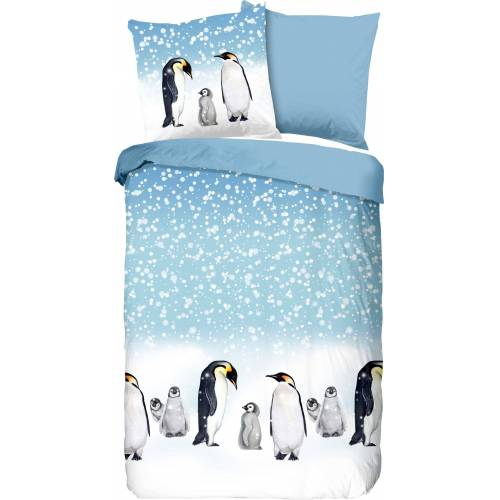good morning Wendebettwäsche »Penguins«, , mit Pinguin