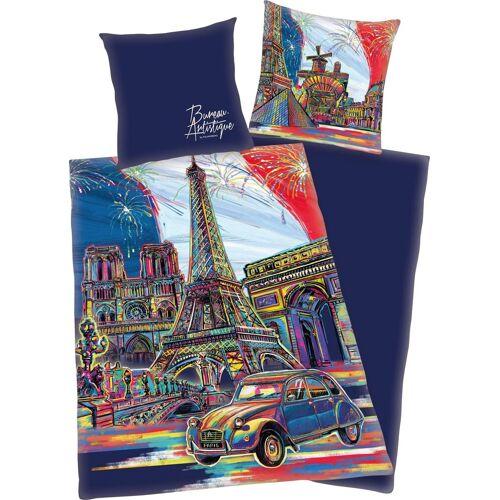 Jugendbettwäsche »Paris«, mit Paris Motiv