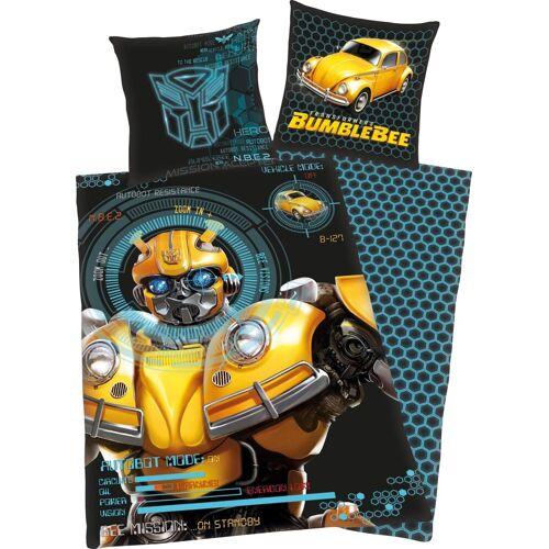 Transformers Kinderbettwäsche »Bumblebee«, , mit coolem Motiv