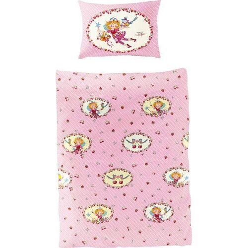 Prinzessin Lillifee Kinderbettwäsche »Kirsche«, , mit Kirschen und Erdbeeren