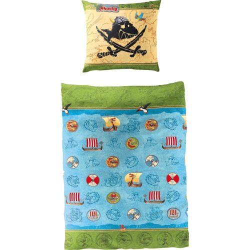 Capt`n Sharky Kinderbettwäsche »Wikinger«, , in tollem Wendedesign
