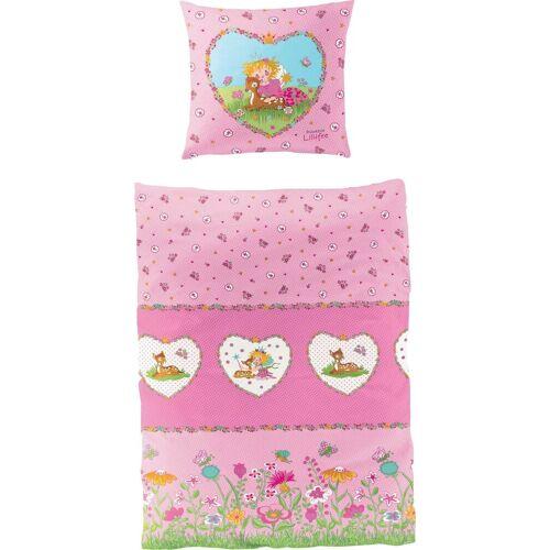 Prinzessin Lillifee Kinderbettwäsche »Reh«, , mit Blumen